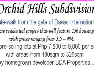 LFS 4 - Lots For Sale property in Davao City