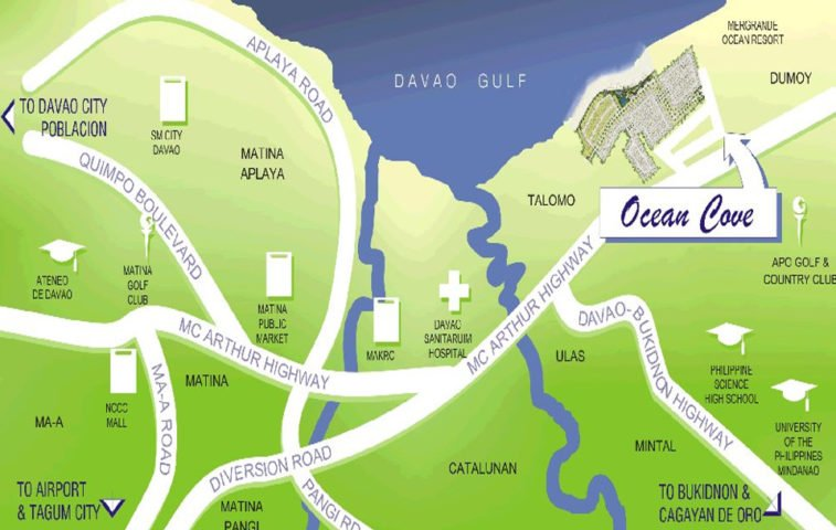 Ocean Cove - Subdivision property in Davao City