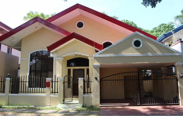 Davao House For Rent 502 - House For Rent property in Davao City