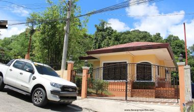 Davao House For Sale 702 - House For Sale property in Davao City